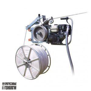 Моторизированная лебедка для раскатки СИП с тросом (LM 2060)